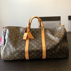 Louis Vuitton keepall 55 bando